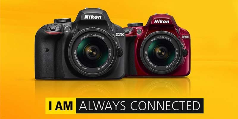 Nikon-D3400-camera