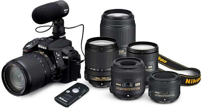 لوازم جانبی دوربین Nikon D5300