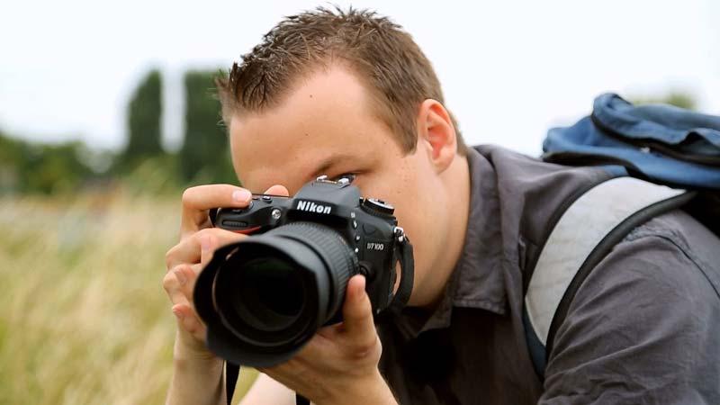 فوکوس دوربین Nikon D7100