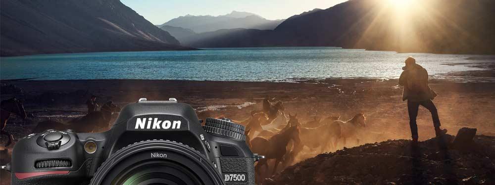 امکانات عکاسی Nikon D7500