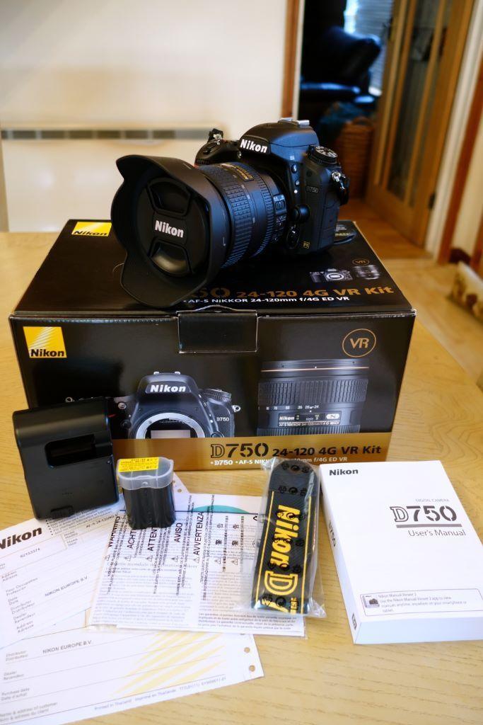 دوربین دیجیتال نیکون D750 kit 24-120