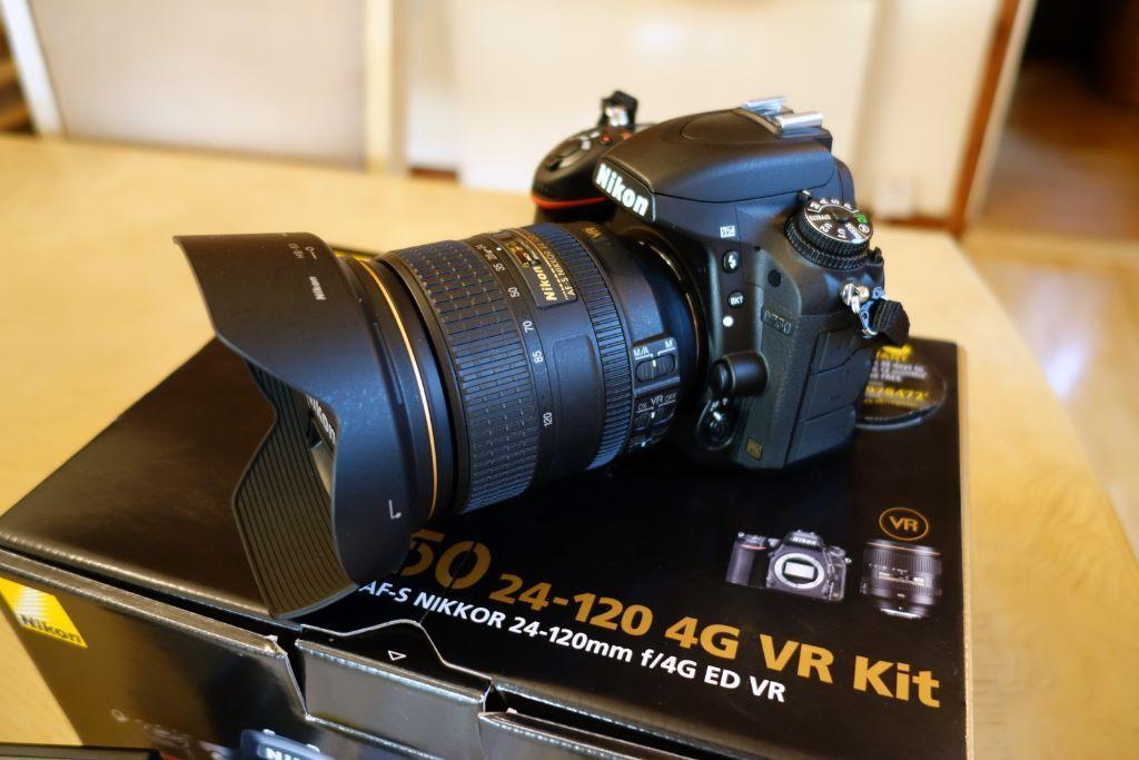 مشخصات کلی دوربین دیجیتال نیکون D750 kit 24-120