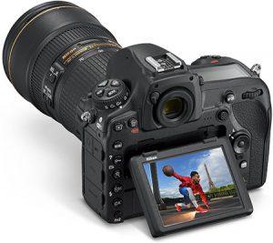 نمایشگر دوربین نیکون مدل D850