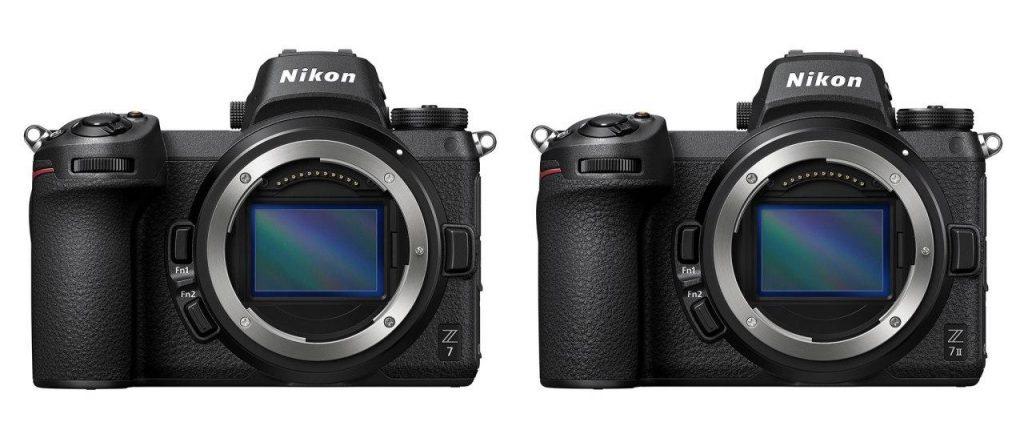 مقایسه دوربین نیکون z7 با دوربین نیکون z7 mark ii