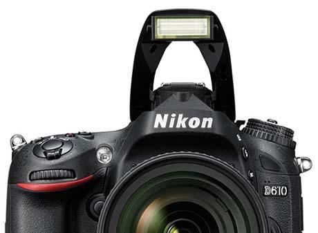 فلاش دوربین Nikon D610