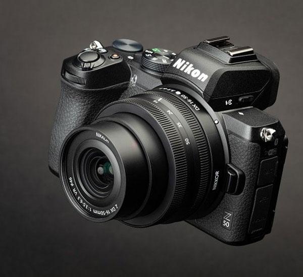 رونمایی دوربین نیکون Z50